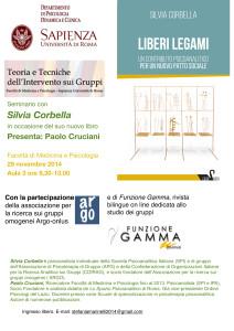 G1- ATTI a breve -ARGO 2014 convegno con s.corbella Libro