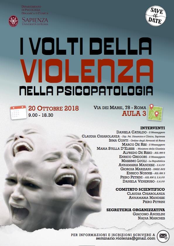I Volti della Violenza nella Psicopatologia