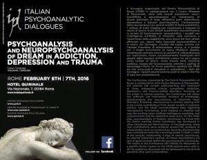 Psychoanalysis and Neurpsychoanalysis of dream in addiction, depression and  trauma 1