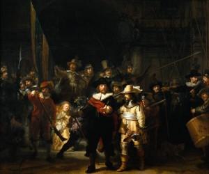 1. Rembrandtguardie Nightwatch